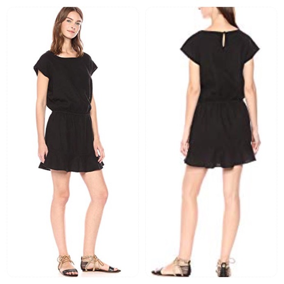 468efe96efe Joie Women s Quora black linen dress